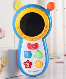 Babyhug Battery Operated Musical Mobile Phone - Multicolor