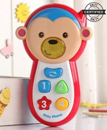 Babyhug Musical Mobile Phone - Blue