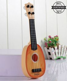 Babyhug Musical Toy Guitar - Brown