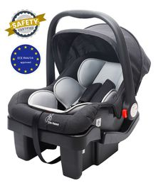 R for Rabbit Picaboo Grand Infant Car Seat with Base - Black & Grey