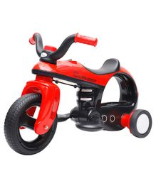 R for Rabbit Discovery Space Ship Inspired Battery Operated Bike - Red