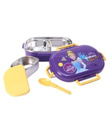 Disney Princess Lunch Box - Purple and Yellow