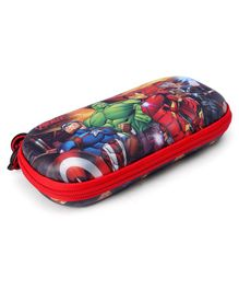 Marvel Avengers Rectangular Pencil Pouch - Red