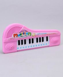 Electronic Piano With 22 Key - Pink