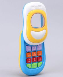 Musical & Interactive Mobile Phone - Blue & Yellow