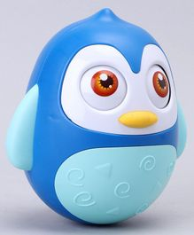 Roly Poly Penguin Toy - Blue
