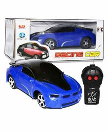 Planet of Toys 2 Channel Super RC Racing Car - Blue