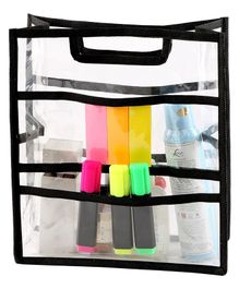 My Gift Booth Mesh Stationary Pouch - Black