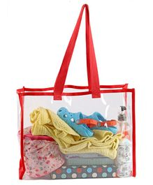 My Gift Booth Transparent Shoulder Bag - Red
