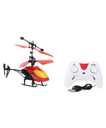 Gooyo Exceed Induction Flight Radio Control Helicopter - Red