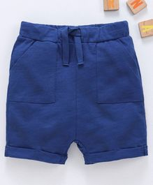 LC Waikiki Solid Shorts - Navy Blue