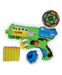 Magic Pitara Blaster Gun With Soft Bullets - Green