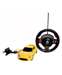 Magic Pitara Speed King RC Car With Charger - Yellow