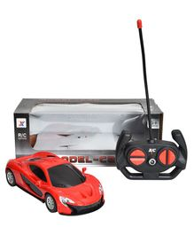 Magic Pitara Remote Control Car With LED Light - Red