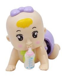 Emob Electric Crawling Baby Doll (Colours May Vary)