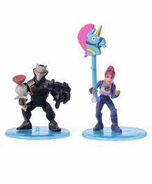 Fortnite Battle Royale Collection Omega & Brite Bomber Action Figures Set of 2 - Height 5 cm Each