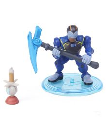 Fortnite Battle Royale Collection Carbide Action Figure With Weapons Blue - Height 5 cm
