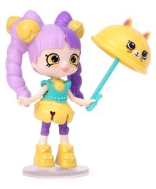 Shopkins Happy Places Season 5 Lil' Shoppie Pack Isabell - Purple & Yellow