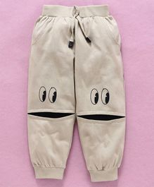 Mini Taurus Ankle Length Lounge Pant - Beige