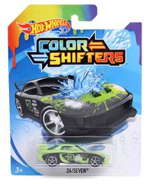 Hot wheels Twenty Four Seven Color Shifter Car Toy - Green