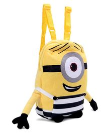 Minions Jailbreak Stuart  Bag Yellow - 11 Inches