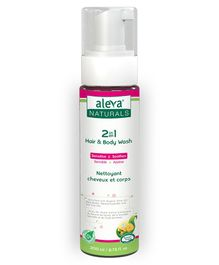 Aleva Naturals 2 in 1 Hair & Body Wash - 200 ml