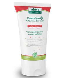 Aleva Naturals Calendula Plus Multipurpose Skin Cream - 50 ml