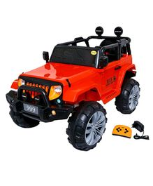 Wheel Power Hummer Battery Operated Ride On Car - Red