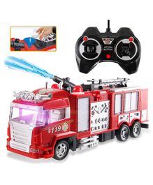 GetBest Fire Rescue Remote Control Truck - Red