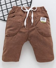 Leeker Kids Drawstring Waist Shorts - Brown
