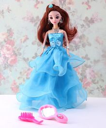 Awals Priyanka Doll Blue - Height 28 cm