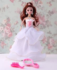 Awals Priyanka Doll White - Height 28 cm