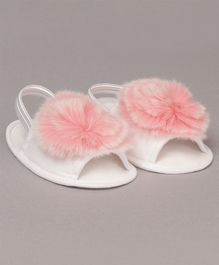 Daizy Faux Fur Booties - Pink