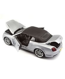 Bburago Die Cast Bentley Toy Car - Silver