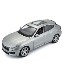 Bburago Maserati Levante Die Cast Toy Car - Silver