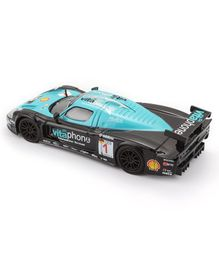 Bburago Maserati MC12 Die Cast Car - Black Blue