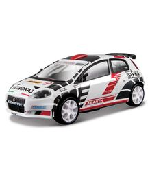 Bburago Abarth Grande Punto S2000 Die Cast Car - White