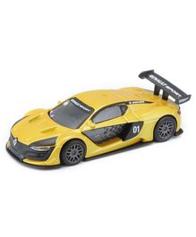 Bburago Renault Sport Toy Car - Black & Yellow