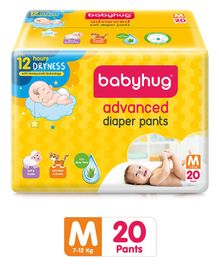 Babyhug Advanced Pant Style Diapers Medium - 20 Pieces