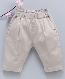 Leeker Kids Full Length Trousers - Cream