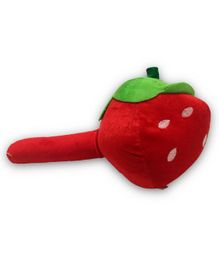 EZ Life Strawbeery Shape Musical Hammer Plush Toy - Red