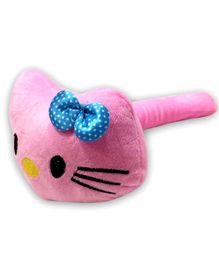 EZ Life Kitty Shape Musical Hammer Plush Toy - Pink