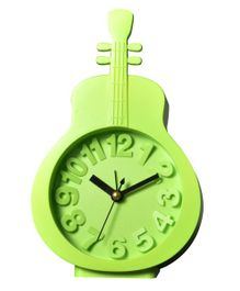EZ Life Guitar Shape Desk Alarm Clock - Green
