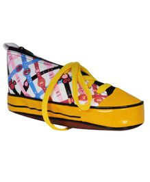 EZ Life Sneaker Shoe Shaped Pencil Pouch - Yellow