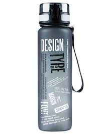 EZ Life Graffiti Water Bottle Grey - 1000 ml