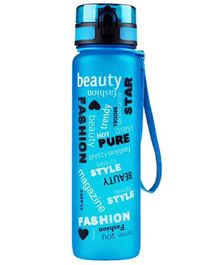 EZ Life Graffiti Water Bottle Blue - 1000 ml
