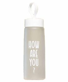 EZ Life Sporty Water Bottle White - 1000 ml