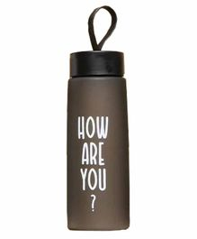 EZ Life Sporty Water Bottle Black - 1000 ml