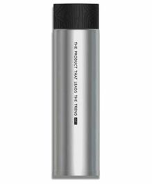 EZ Life Quirky Stainless Steel Thermos Bottle Black & Silver - 310 ml