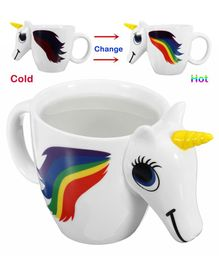 EZ Life Unicorn Color Changing Mug - White